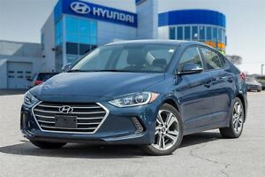 2017 Hyundai Elantra GLS, SUNROOF, BACK UP CAM, XM