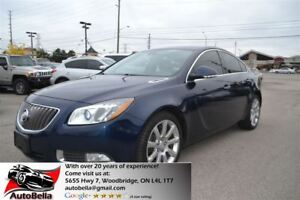 2012 Buick Regal 2.0L Turbo LEATHER BLUETOOTH