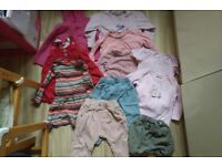 Large bundle of girls clothes 12-18months mainly Next