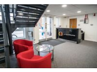 Large self contained office suite with own entrance in Cardiff