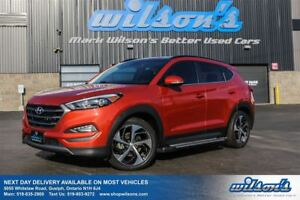 2016 Hyundai Tucson LIMITED AWD! LEATHER! NAV! SUNROOF! BLIND SP