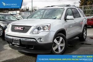2010 GMC Acadia SLT Backup Camera and Sunroof