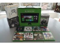 Xbox One with 8 Games, Wireless Controller and Charger