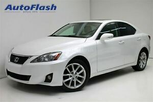 2011 Lexus IS 250 Premium AWD * Cuir/Leather * Toit-ouvrant/Sunr