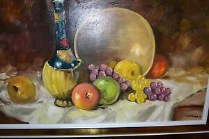 """28""""X16"""" PAINTING OIL ON CANVAS SIGNED FROM Wallack Galleries. Gatineau Ottawa / Gatineau Area image 4"""