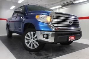 2016 Toyota Tundra Limited 4WD Lthr Nav Sunroof Btooth BU Camera