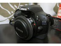 Canon 2.8 40mm pancake lens (for street, portrait, landscape photography)