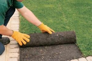 SOD $1.00 SQ/FT FREE ESTIMATES, REMOVAL AND INSTALL, NEW LAWN, NEW GRASS BOOK NOW!! MARKHAM SOD YORK REGION SOD