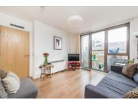 Fully furnished 2 bedroom property with private balcony and excellent transport links to the City!