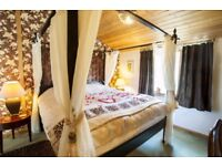 Still Rabbit Lodges. Luxury Self Catering, Private Hot Tub, Super King Four Posters. Adult Only.