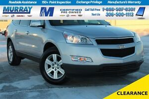2012 Chevrolet Traverse LT*PST PAID *LEATHER SEATS*ON STAR*BACKU