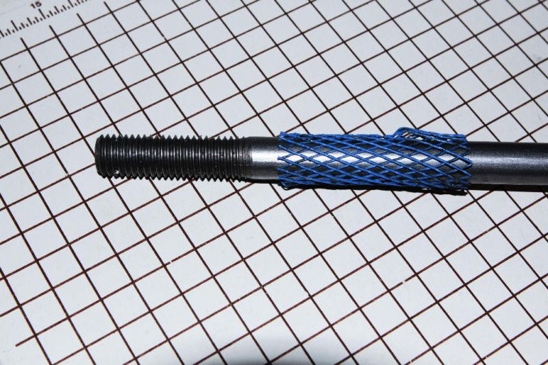 "(6)  Threaded Steel Rod 5/8"" X 36""    Set of six"