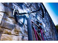 Race bike humber racing bicycle plus lock