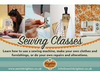 Learn to sew - make original, great fitting clothes, gifts or soft furnishings
