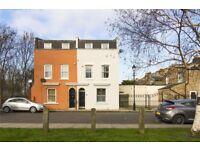 Rare 4 bed semi-detached house w/ garden + roof terrace 1500 sq ft/ 141 sq m Bow, Mile End Park e3