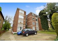 A GOOD SIZE ONE BEDROOM TOP FLOOR purposebuilt flat within easy access to WOODSIDE PARK TUBE STATION
