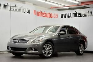 2011 Infiniti G25X LUXURY / AWD / GPS / BACK UP CAMERA