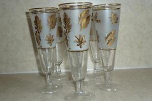 Gold Leaf Parfait Glasses Kitchener / Waterloo Kitchener Area image 3