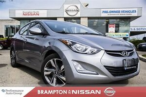 2015 Hyundai Elantra GLS *Bluetooth|Rear view monitor|Sunroof*