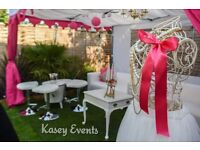 Kasey Events - Chill Out Lounge-Luxury Marquee/Gazebo Hire with 3 Sofas for outdoor events