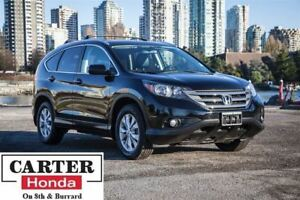 2013 Honda CR-V EX-L + LEATHER + AWD + NO ACCIDENTS + CERTIFIED!