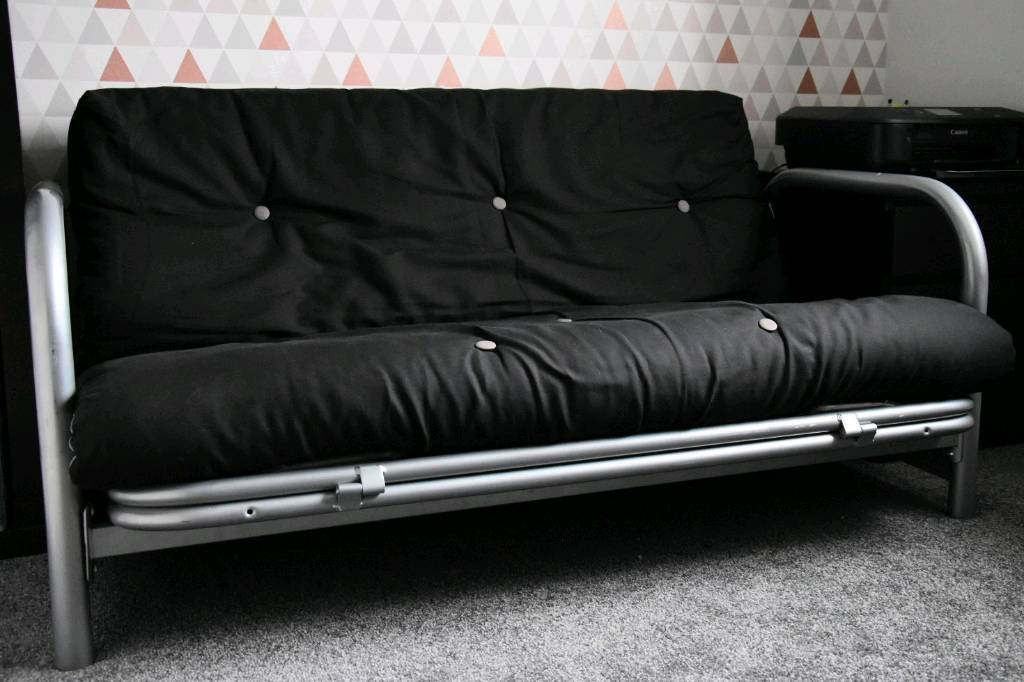 Superb Argos Home Mexico 2 Seater Futon Sofa Bed Black Grey In Kirkliston Edinburgh Gumtree Ncnpc Chair Design For Home Ncnpcorg