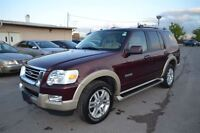 2007 Ford Explorer Eddie Bauer 7 Pass V6 Leather Sunroof 4X4