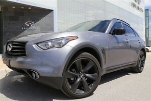 2016 Infiniti QX70 Sport SportNavigation and Technology Package,