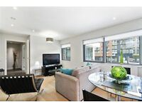 Stunning one bedroom in this new built purpose built block with porter. Minimum Stay just 3 Months!