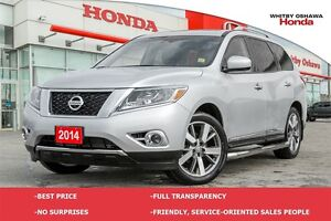 2014 Nissan Pathfinder Platinum Leather Sunroof Navigation DVD
