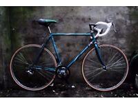 DAWES RESPONSE. 23 inch, 58 cm. Vintage racer racing road bike, 12 speed