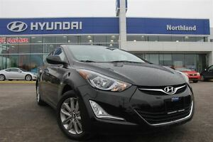 2016 Hyundai Elantra Alloys/Sunroof/Back Up Cam/Low KM's