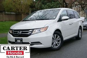 2016 Honda Odyssey EX-L with Navigation + LEATHER + POWER DOORS!