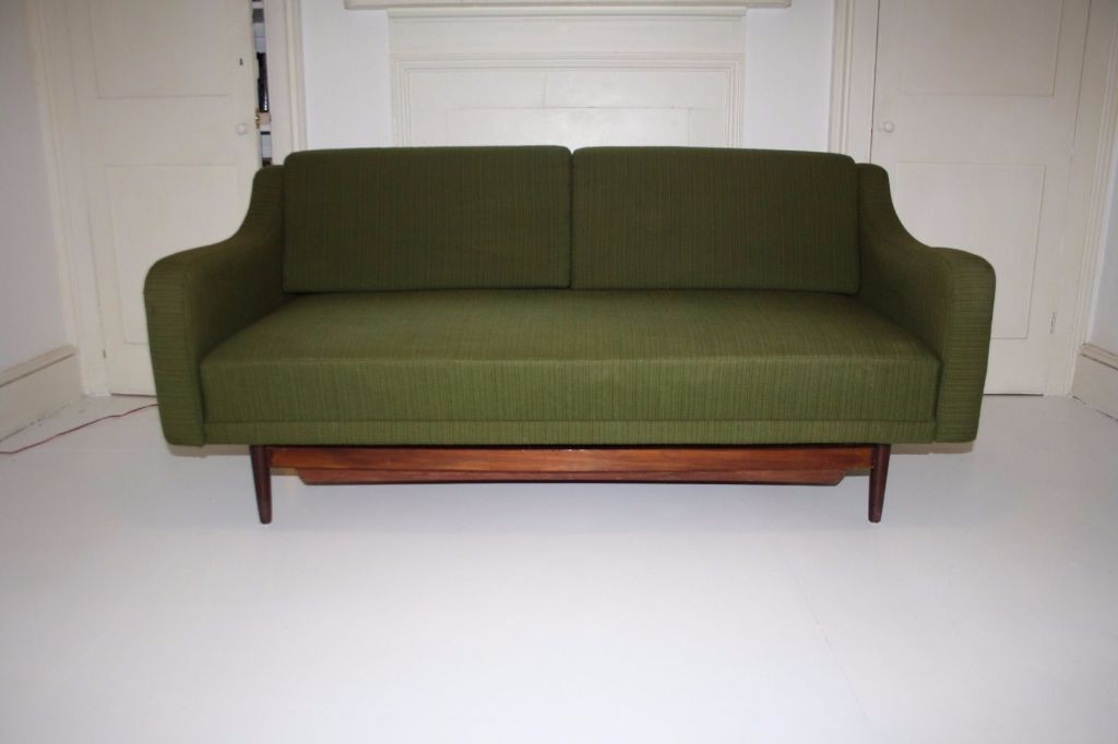 Mid century danish vintage sofa day bed 1950s 1060s for Sofa bed gumtree london