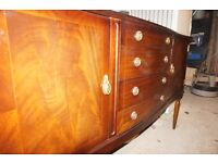 dark wood side board good condition for age