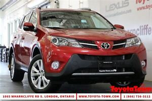 2014 Toyota RAV4 LOADED LIMITED TECH PACKAGE London Ontario image 1