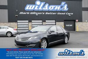 2013 Lincoln MKZ AWD NAVIGATION! PANORAMIC SUNROOF! REAR CAMERA+