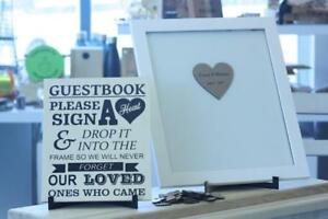 Personalized Wedding Guestbook Drop Box