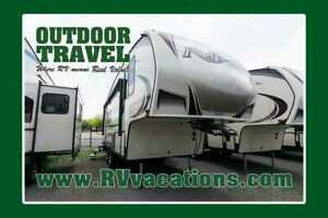 2018 Grand Design REFLECTION 150 SERIES 220RK HALF TON TOWABLE 5