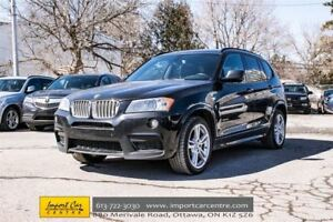 2014 BMW X3 xDrive35i M SPORT PKG PRICE REDUCED!!  CALL!