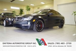 2012 Mercedes-Benz C-Class C63 AMG PERFORMANCE PACKAGE