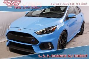 2016 Ford Focus RS RS WOW 6407KM AWD TOIT NAV 2 SET DE ROUES