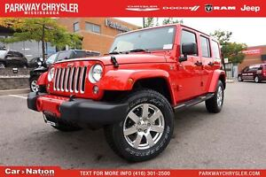 2016 Jeep WRANGLER UNLIMITED Sahara| 4X4| DUAL TOP| BRAND NEW| N