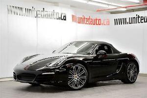 2016 Porsche Boxster BLACK EDITION RARE NAVIGATION
