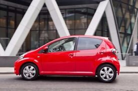 URGENT BARGAIN V CHEAP TOYOTA AYGO 11 MOT 2018 £20 TAX INSURANCE NOT corsa golf polo astra clio bmw