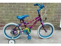 Girl bike 16 inches