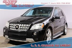2011 Mercedes-Benz M-Class ML350 BlueTEC 4MATIC 4X4 CUIR BRUN NA