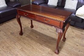 Chippendale Style Writing Desk/Console