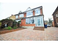 **MODERN&NEW 4 bedroom house with drive, big garden,4 bedroom and 2 bathroom!FAMILY HOME!!**