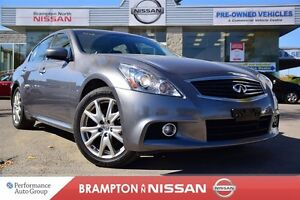 2013 Infiniti G37X Sport *Leather,Navigation,Rear view monitor,H